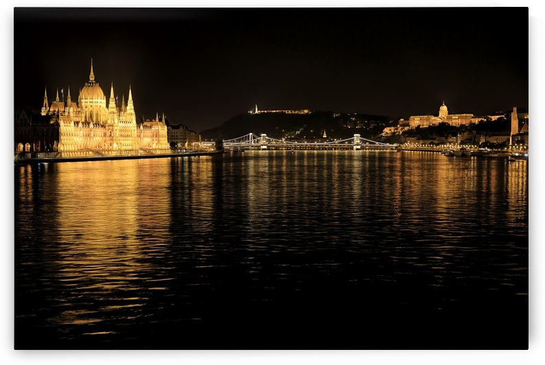 Budapest Reflections by Alex Galiano