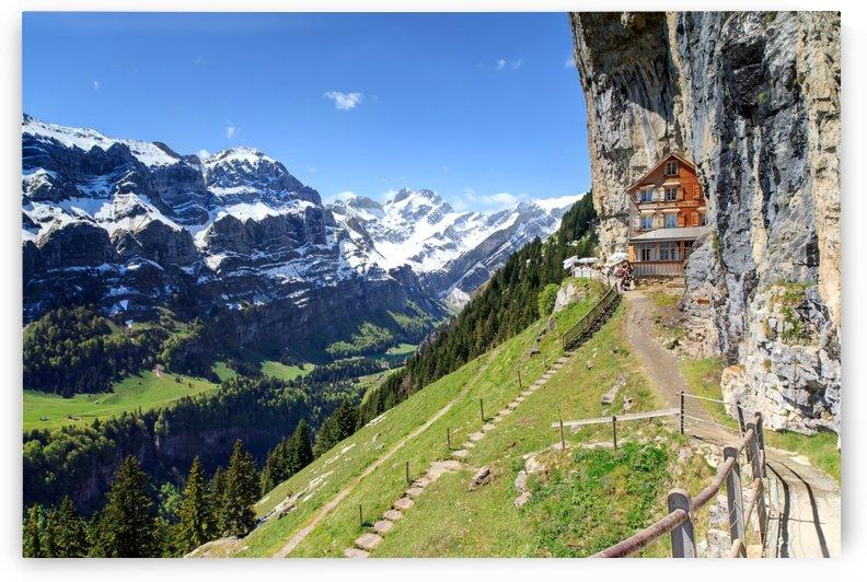 Aescher Mountain Hotel by Alex Galiano