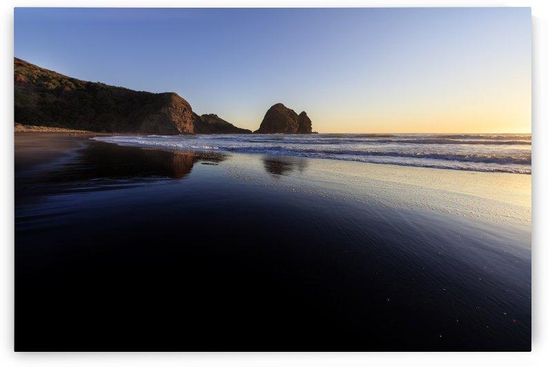 Black Sand Beach by Alex Galiano