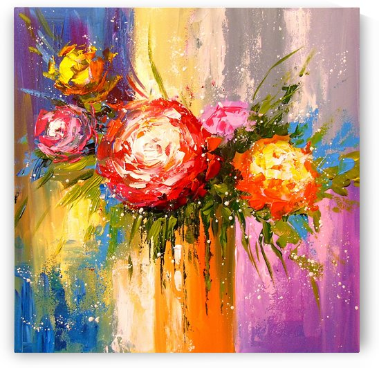 Bouquet of flowers by Olha Darchuk