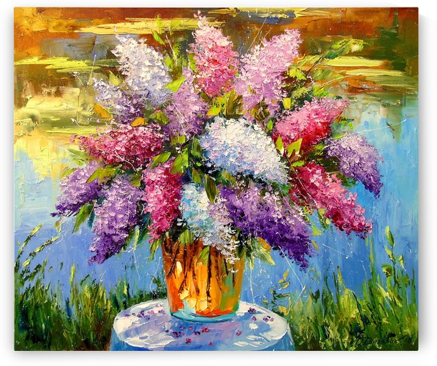 Bouquet of lilac by Olha Darchuk