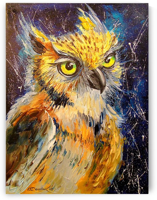 Owl by Olha Darchuk