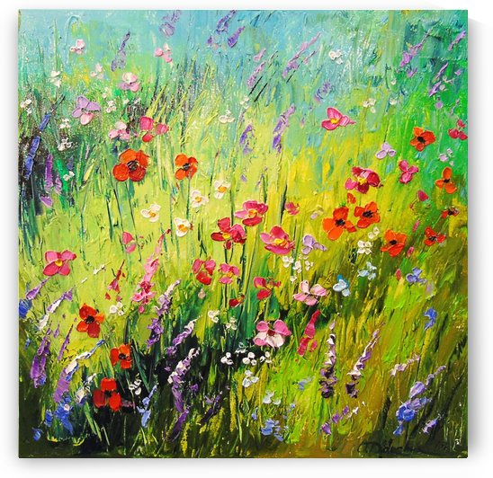 Meadow flowers by Olha Darchuk