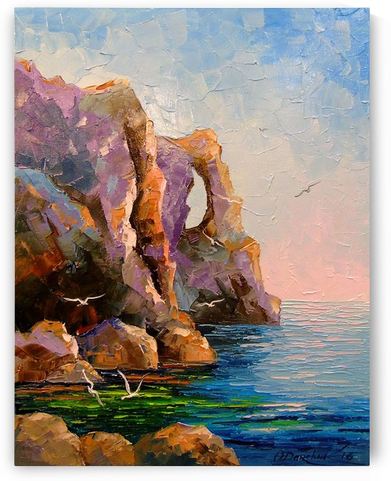 Rocks by the sea by Olha Darchuk