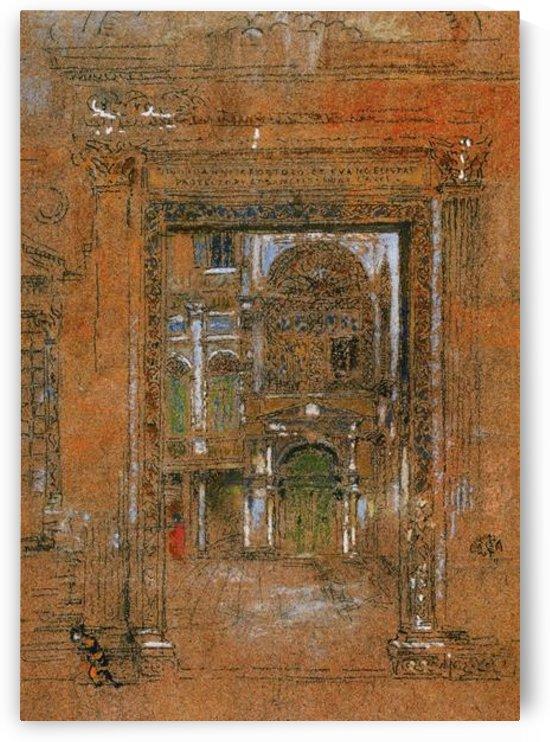 San Giovanni Apostolo et Evangelista by Whistler by Whistler