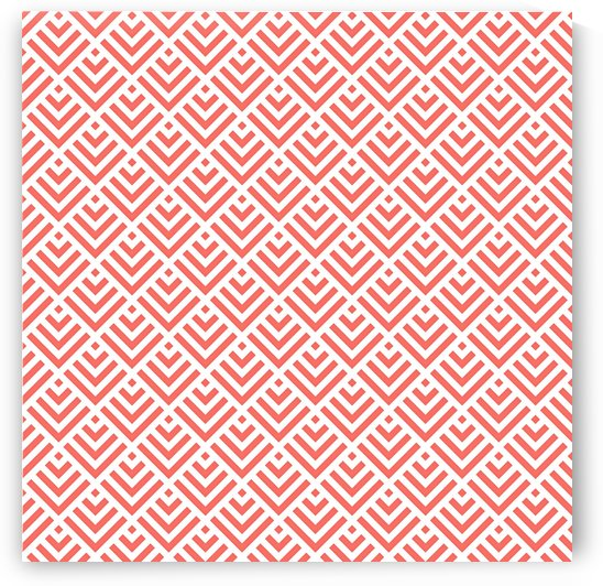 Living Coral Pattern I by Art Design Works