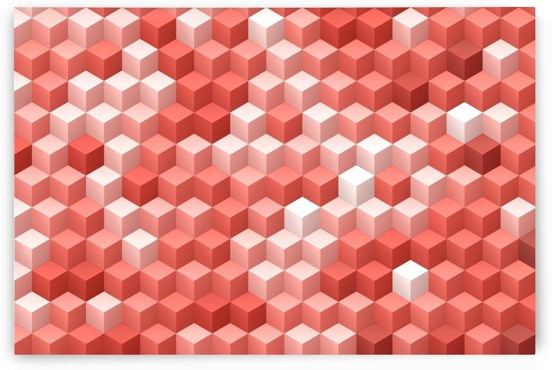 Living Coral Pattern V by Art Design Works