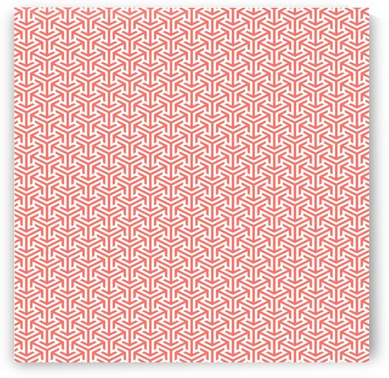 Living Coral Pattern IV by Art Design Works