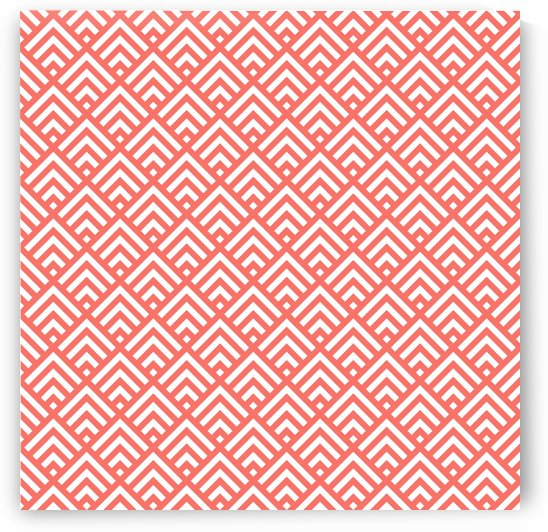 Living Coral Pattern II by Art Design Works