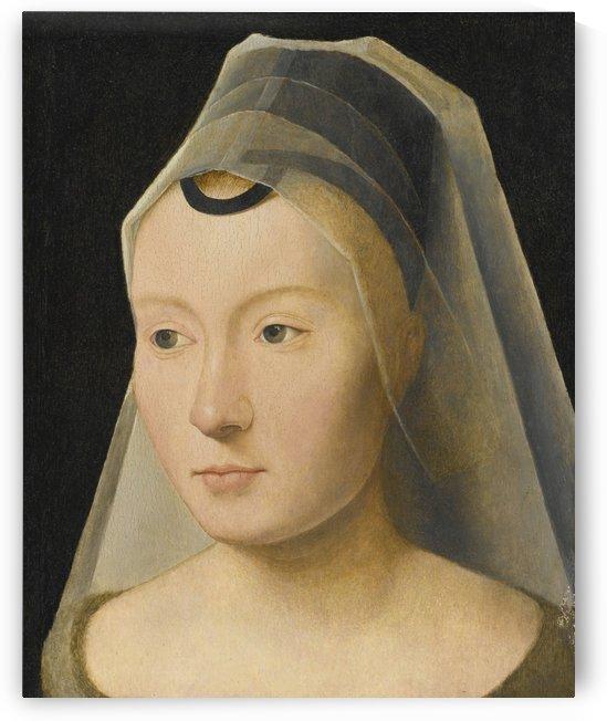 Portrait of a Young Woman by Paul Cesar Helleu