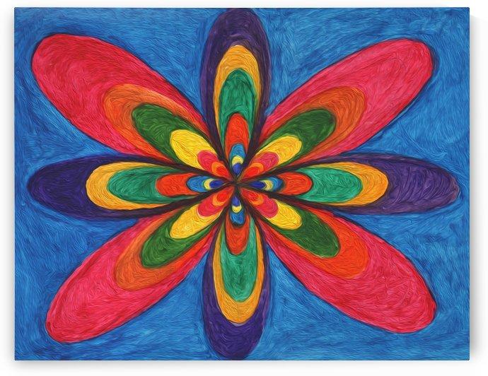 Colorful Flower Fantasy  by Dobrotsvet Art