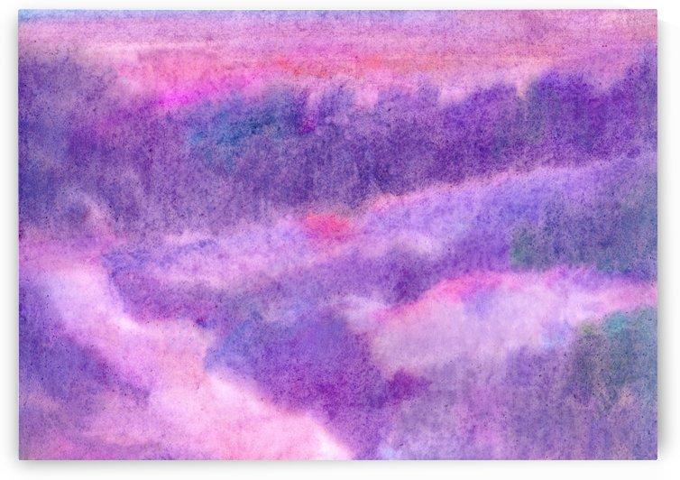 Sunrise abstraction by Dobrotsvet Art