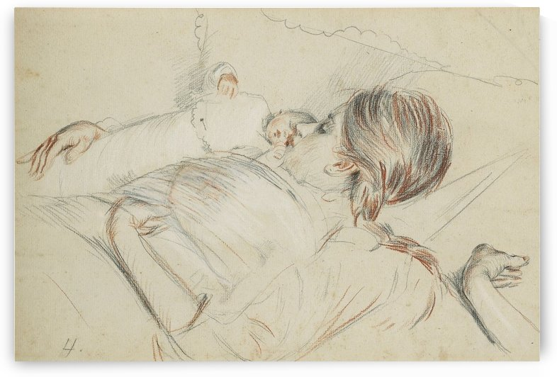 The Newborn Baby by Paul Cesar Helleu