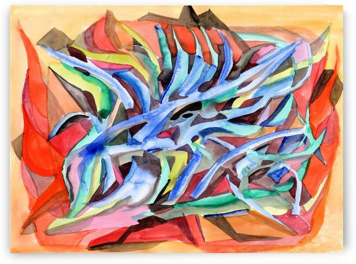 Abstraction Crystals by Dobrotsvet Art