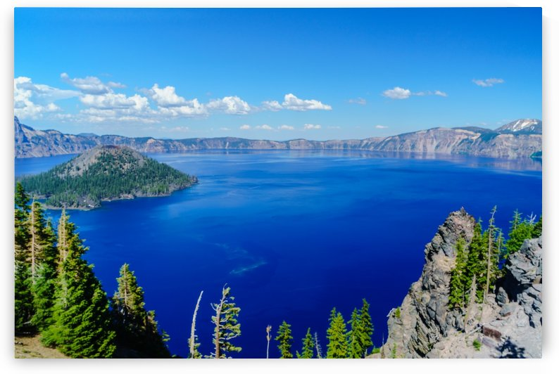 Crater Lake Beauty by Steve Luther