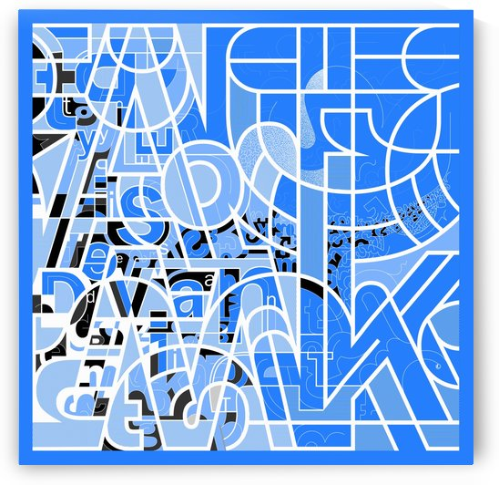 Type Is Deviant - Typography Art Print by Eugene Lvovsky