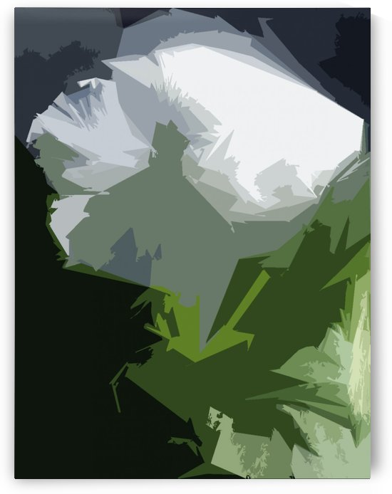 White Pansy I by CanvasBloom