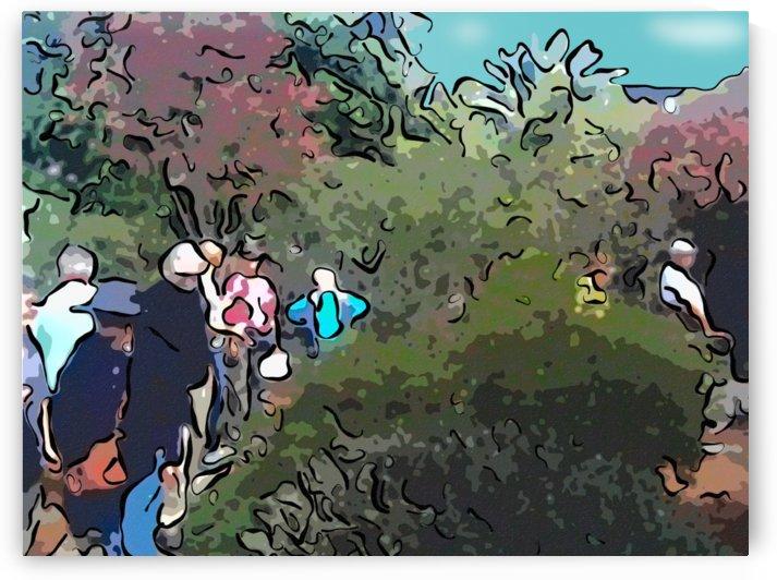 California Fall Garden Excursion by CanvasBloom