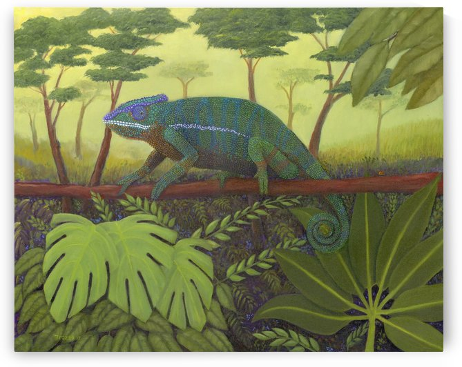 C is for Chameleon  by Frank Trozzo