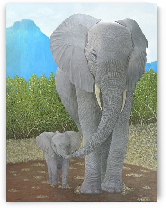 E is for Elephant by Frank Trozzo