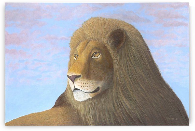 L is for Lion by Frank Trozzo