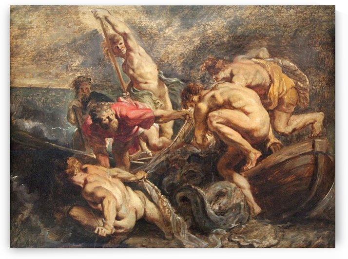 The Miraculous Draught of Fishes by Peter Paul Rubens