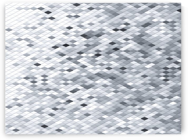 geometric square pattern abstract background in black and white by TimmyLA