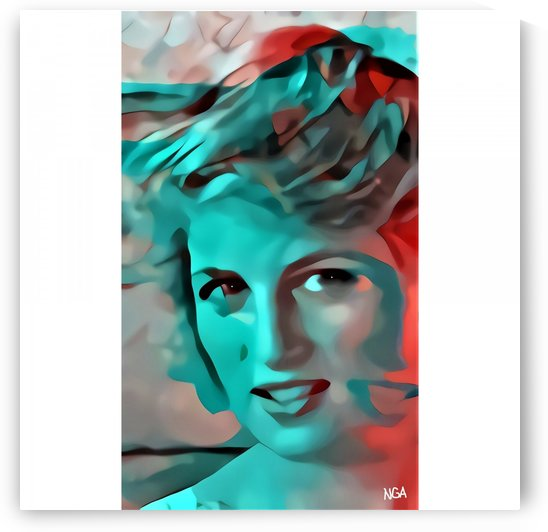 Princess Diana    by neil gairn adams  by Neil Gairn Adams