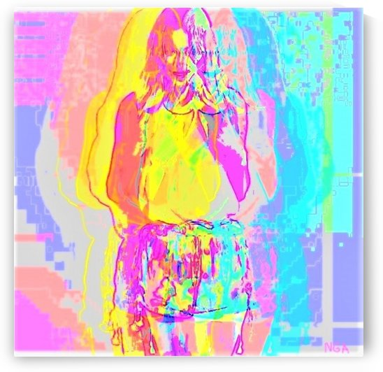 Pretty in Pastel by neil gairn adams  by Neil Gairn Adams