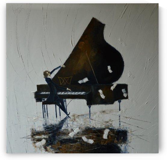 Piano by Justyna Kopania