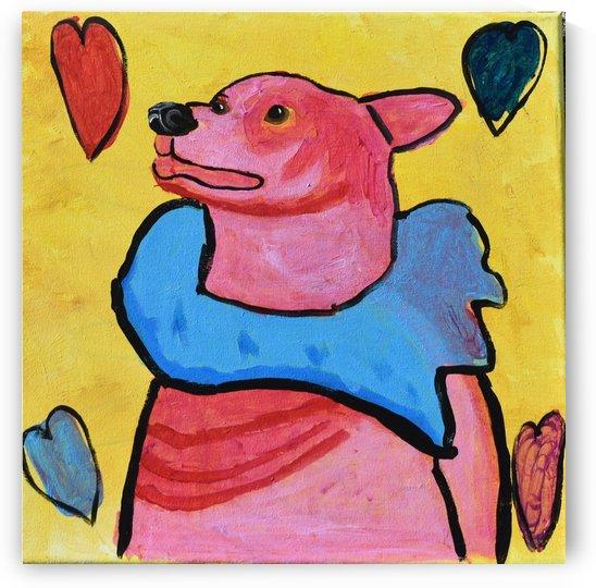 Happy Dog. Jana A. by The Arc of the Capital Area