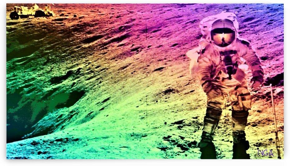 Man on the Moon by neil gairn adams by Neil Gairn Adams
