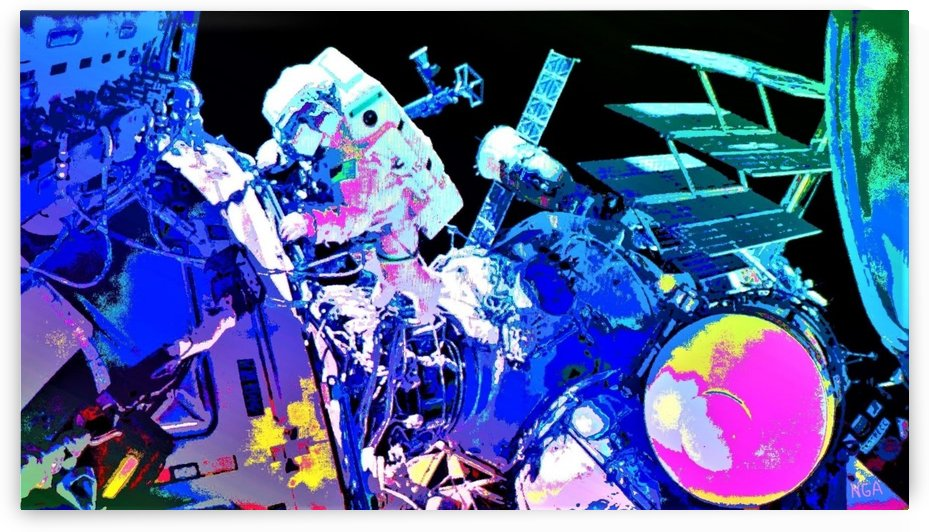 The Space Walker by Neil Gairn Adams by Neil Gairn Adams