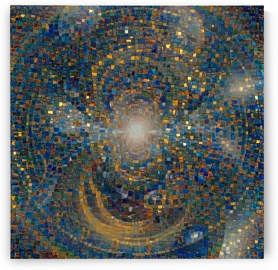 Kaleidoscopic Mosaic by Bruce Rolff