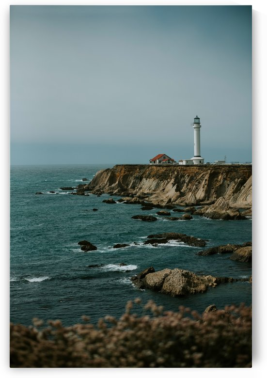 Point Arena Lighthouse California by StephanieAllard