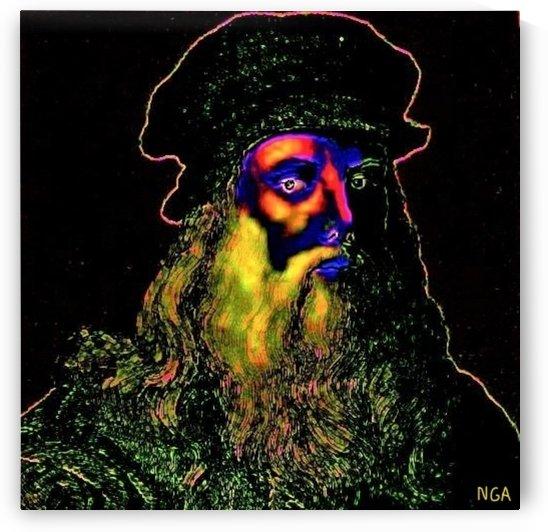 Leonardo -  by Neil Gairn Adams by Neil Gairn Adams