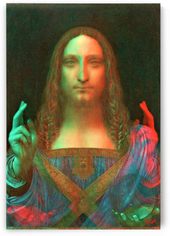 Salvator Mundi - by Neil Gairn Adams by Neil Gairn Adams