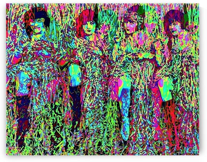 Happy Girls - by Neil Gairn Adams by Neil Gairn Adams
