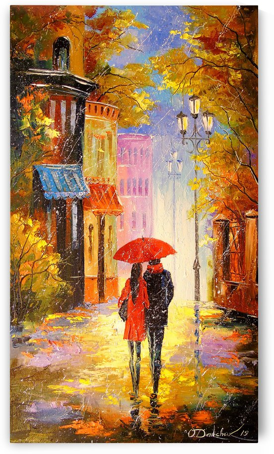 Rain for two by Olha Darchuk