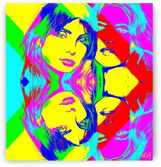 Poster Girls -  by Neil Gairn Adams by Neil Gairn Adams