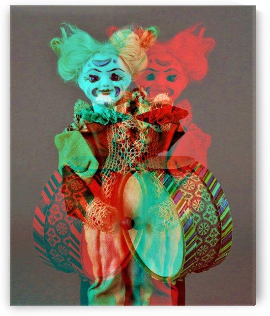 The Drummer Clown-  by Neil Gairn Adams by Neil Gairn Adams