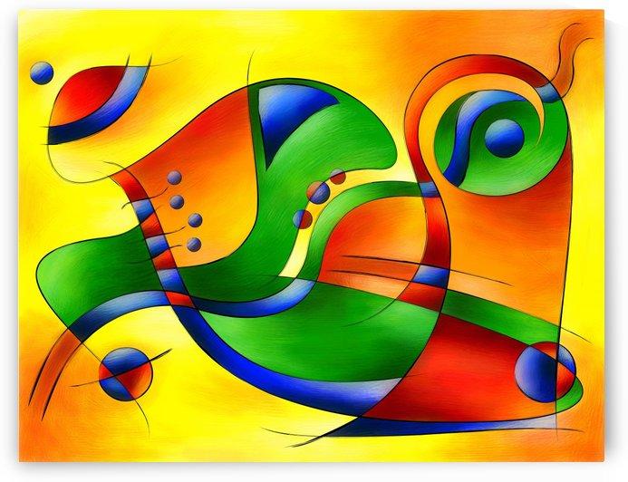 Antaressa - colourful world by Cersatti Art