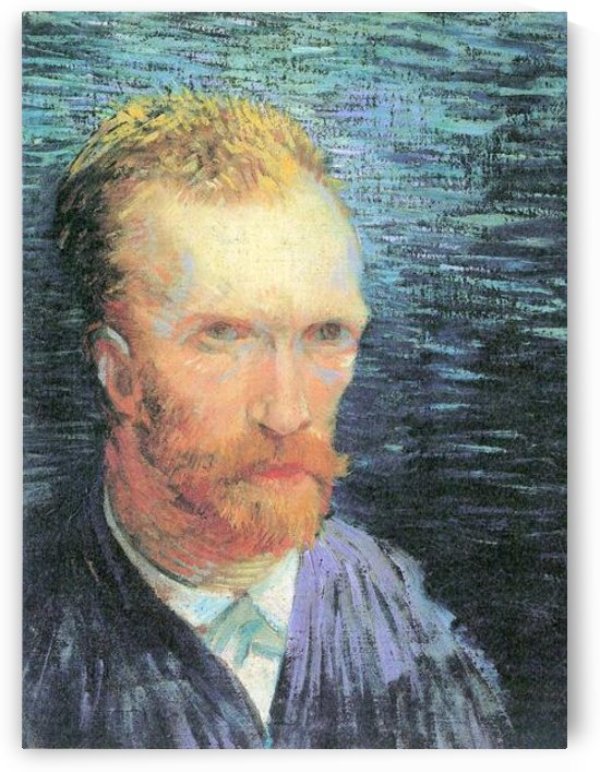 Self-portrait from the left by Van Gogh by Van Gogh