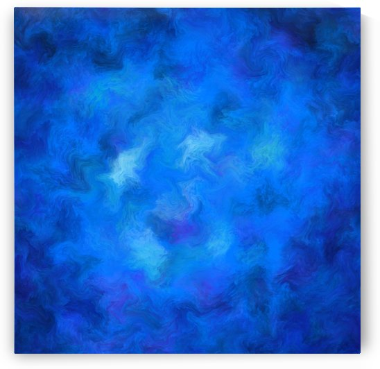Denitamessa - deep blue world by Cersatti Art