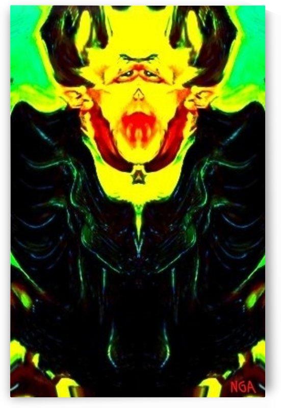 DRACULA -portrait mode - by Neil Gairn Adams by Neil Gairn Adams