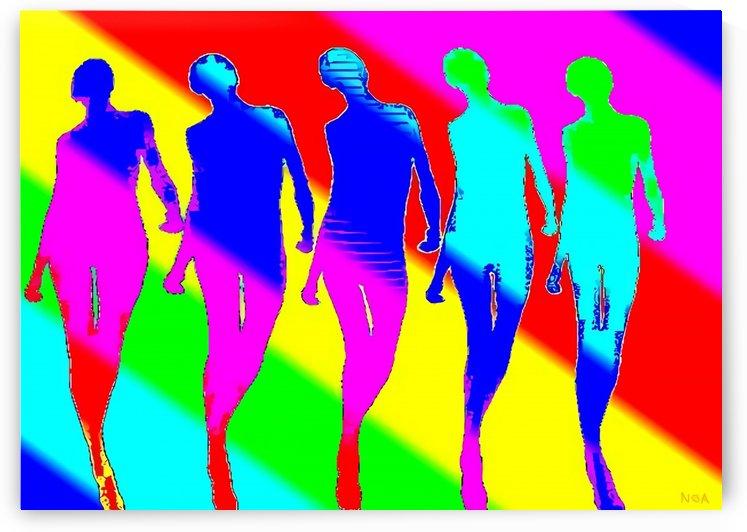 The Dancers - by Neil Gairn Adams by Neil Gairn Adams