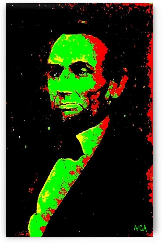 Abraham Lincoln -   by Neil Gairn Adams by Neil Gairn Adams