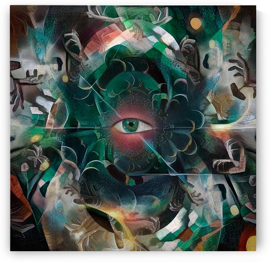 The Eye of Mystery by Bruce Rolff