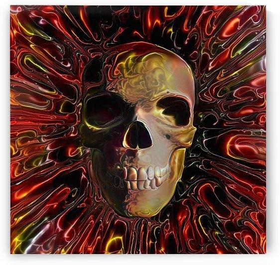 Skull Lava Design by Bruce Rolff