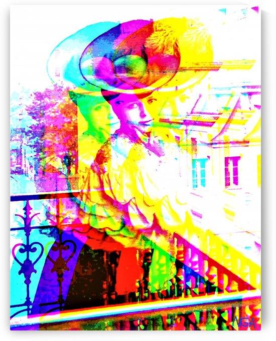 Lady with Hat - by Neil Gairn Adams by Neil Gairn Adams
